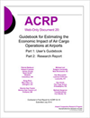 Estimating the Economic Impact of Air Cargo Operations at Airports, Part 1: User's Guidebook and Part 2: Research Report