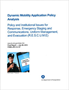 Dynamic Mobility Application Policy Analysis: Policy and Institutional Issues for Response, Emergency Staging and Communications, Uniform Management, and Evacuation (R.E.S.C.U.M.E.)