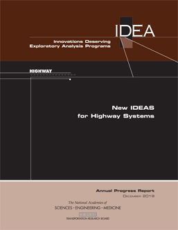 Image of New IDEAs for Highway Systems: Annual Progress Report cover