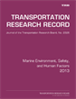 Marine Environment, Safety, and Human Factors 2013