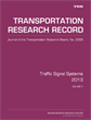 Traffic Signal Systems 2013, Volume 2