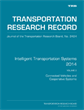 Intelligent Transportation Systems 2014, Volume 2: Connected Vehicles and Cooperative Systems