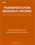 Statistical Methods and Highway Safety Performance 2015