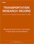 Managing Performance and Assets; Freight Data and Visualization, 2015