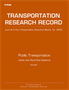 Public Transportation: Urban and Rural Bus Systems 2015, Volume 1