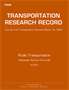 Public Transportation: Passenger Rail and Terminals, 2015, Volume 2