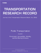 Public Transportation: Volume 4, Paratransit, Accessibility, Mobility, and the Sharing Economy