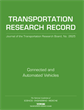 Connected and Automated Vehicles