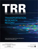 Transportation Research Record: Early Access Papers Addressing Policy