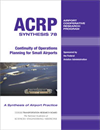 Continuity of Operations Planning for Small Airports