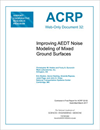 Improving AEDT Noise Modeling of Mixed Ground Surfaces