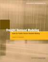 Freight Demand Modeling: Tools for Public-Sector Decision Making