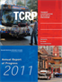 TCRP Annual Report of Progress: 2011