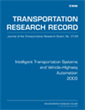 Intelligent Transportation Systems and Vehicle–Highway Automation 2009