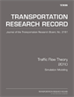 Traffic Flow Theory 2010: Simulation Modeling