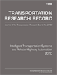 Intelligent Transportation Systems and Vehicle–Highway Automation 2010