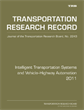 Intelligent Transportation Systems and Vehicle-Highway Automation 2011