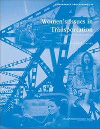 Women's Issues in Transportation: Summary of the 4th International Conference, Volume 2: Technical Papers