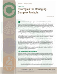 Strategies for Managing Complex Projects