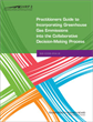 Practitioners Guide to Incorporating Greenhouse Gas Emissions into the Collaborative Decision-Making Process