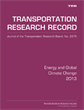 Energy and Global Climate Change 2013
