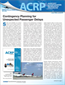 ACRP Impacts on Practice--April 2013: Contingency Planning for Unexpected Passenger Delays