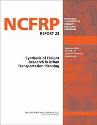 Synthesis of Freight Research in Urban Transportation Planning