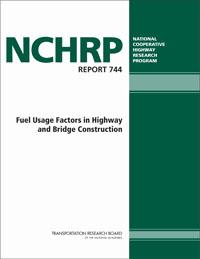 TRB Webinar: Fuel Usage Factors in Highway and Bridge Construction
