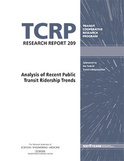 Analysis of Recent Public Transit Ridership Trends