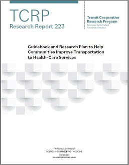 Guidebook and Research Plan to Help Communities Improve Transportation to Health Care Services