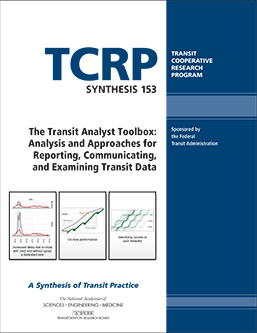 The Transit Analyst Toolbox: Analysis and Approaches for Reporting, Communicating, and Examining Transit Data