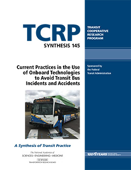 Current Practices in the Use of Onboard Technologies to Avoid Transit Bus Incidents and Accidents