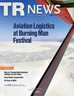 TR News: January-February 2020 issue table of contents now online
