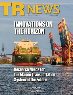 TR News 334 July-August 2021 issue table of contents now online