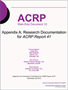 Appendix A: Research Documentation for ACRP Report 41