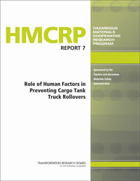 HMCRP Report 7: Role of Human Factors in Preventing Cargo Tank Truck Rollovers