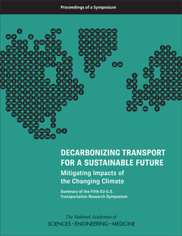 Decarbonizing Transport for a Sustainable Future: Mitigating Impacts of the Changing Climate