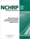 Material Properties of Cold In-Place Recycled and Full-Depth Reclamation Asphalt Concrete