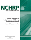 Seismic Evaluation of Bridge Columns with Energy Dissipating Mechanisms, Volume 1: Research Overview and Volume 2: Guidelines