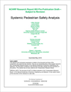 Systemic Pedestrian Safety Analysis