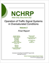 Operation of Traffic Signal Systems in Oversaturated Conditions, Volume 2 – Final Report