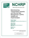 Mainstreaming Transportation Hazards and Security Risk Management: CAPTA Update and Implementation