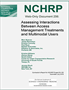 Assessing Interactions Between Access Management Treatments and Multimodal Users