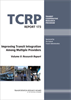 Improving Transit Integration Among Multiple Providers, Volume II: Research Report