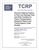 Decision-Making Toolbox to Plan and Manage Park-and-Ride Facilities for Public Transportation: Research Report and Transit Agency Case Studies